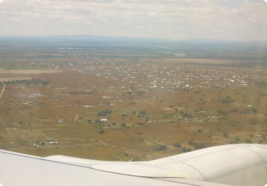 Landing in Lusaka, Zambia