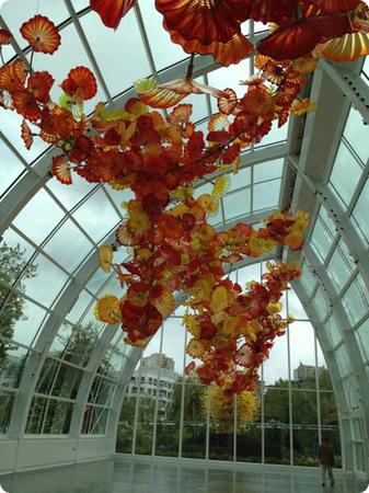 Glasshouse at Chihuly Garden and Glass - Wouldn't you love to be married here?