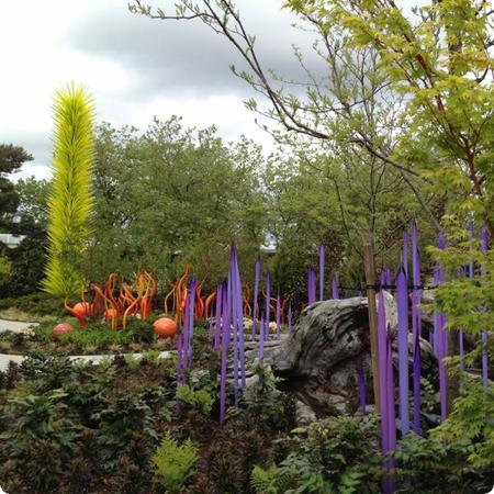 Chihuly Garden in Seattle Center