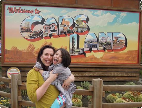 Carsland Entrance at Disney's California Adventure Park