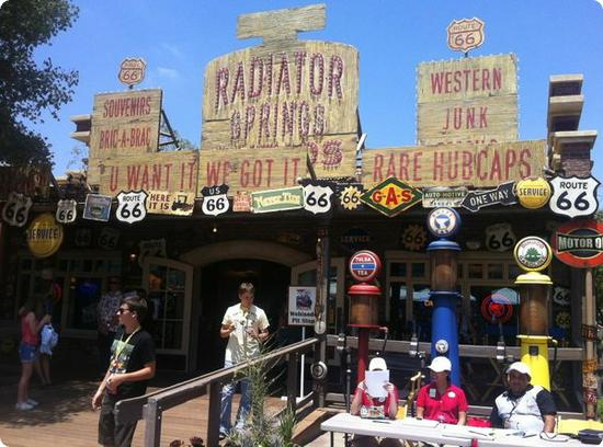 Radiator Springs Souvenir Shop at Cars Land
