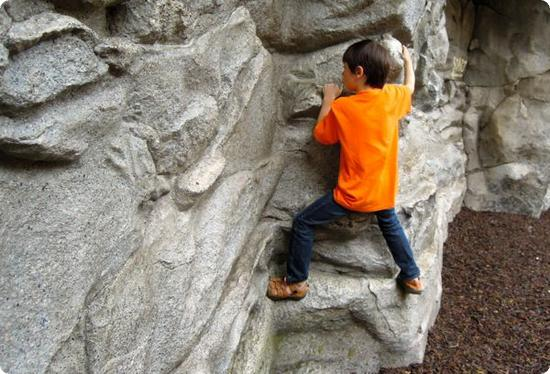 Rock Climbing in Disney's California Adventure Park