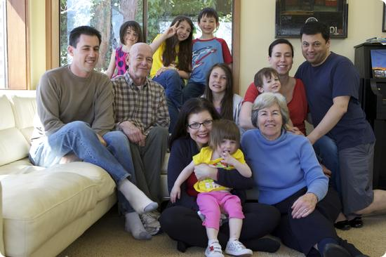 Dubrow Family April 2012