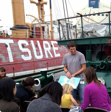 Tugboat Storytime at the Center for Wooden Boats