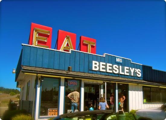 Mrs Beesley's Burgers in Toledo, WA