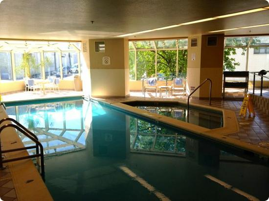 Indoor Pool at the Residence Inn South Lake Union - Seattle
