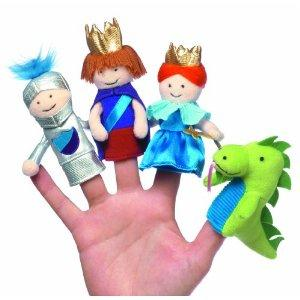 Narrate your own drama with these cute finger puppets