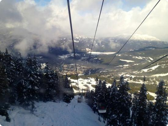 View from the Whistler Gondola