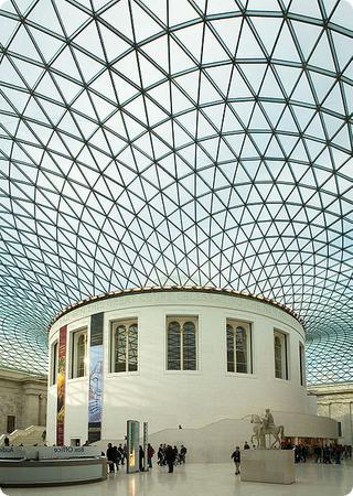 The Great Court at the British Museum
