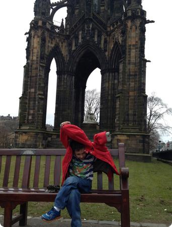 Totally not participating - Sir Walter Scott Monument in Edinburgh