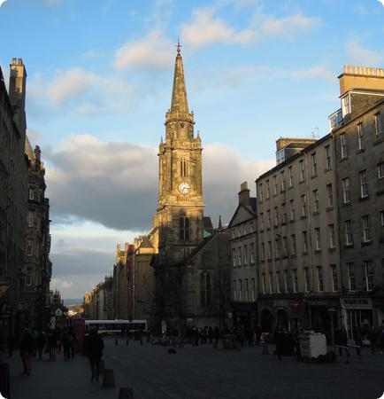 Edinburgh's Royal Mile is a rewarding walk through the oldest part of the city