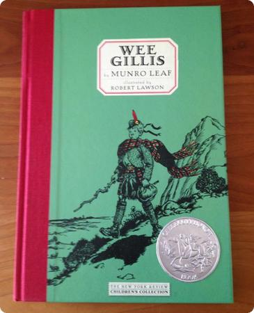 Wee Gillis by Munro Leaf is a great book for kids headed to Scotland