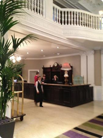 Lobby at the Balmoral Hotel