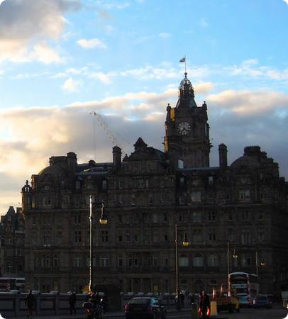 Balmoral hotel in Edinburgh, Scotland
