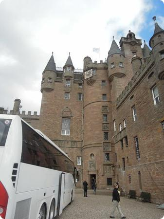 Glamis Castle in the Scottish Highlands