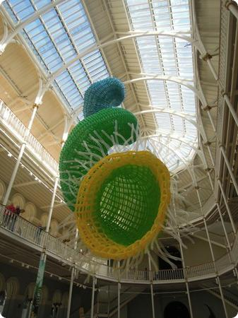 Balloon Sculpture at the National Museum of Scotland
