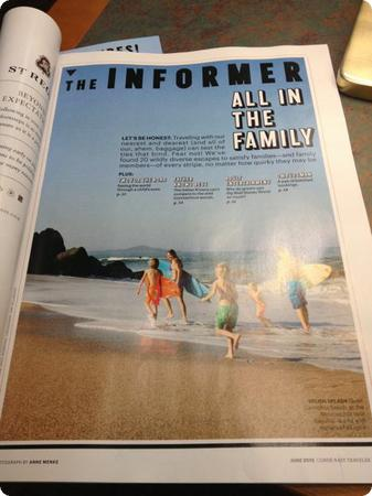 Inside Conde Nast Traveler's Family Travel Issue