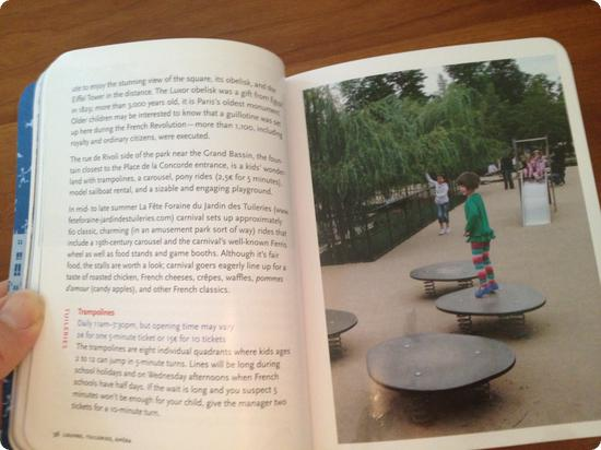 Paris with Children - a page about the Jardin des Tuileries